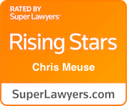 Award Badge Texas Rising Stars Chris Meuse by Thomson Reuters