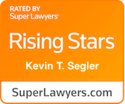 Award Badge Texas Rising Stars Kevin Segler by Thomson Reuters