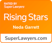 Award Badge Texas Rising Stars Neda Garrett by Thomson Reuters