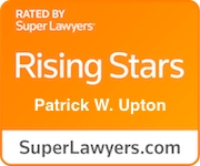 Award Badge Texas Rising Stars Patrick Upton by Thomson Reuters