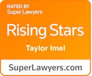 Award Badge - Texas Rising Stars Taylor Imel by Thomson Reuters