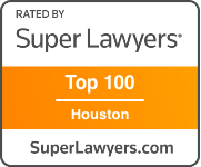 Award Badge Texas Super Lawyer Top 100 Houston