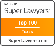 Award Badge Texas Super Lawyer Top 100 Texas