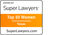 Texas Super Lawyer Top 50 Women Texas