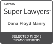 Award Badge for Texas Super Lawyer Dana Manry by Thomson Reuters