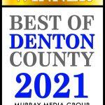 Best of Denton County Winner 2021