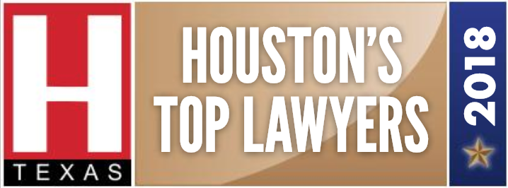 Award Badge H Texas Houston's Top Lawyers in 2018