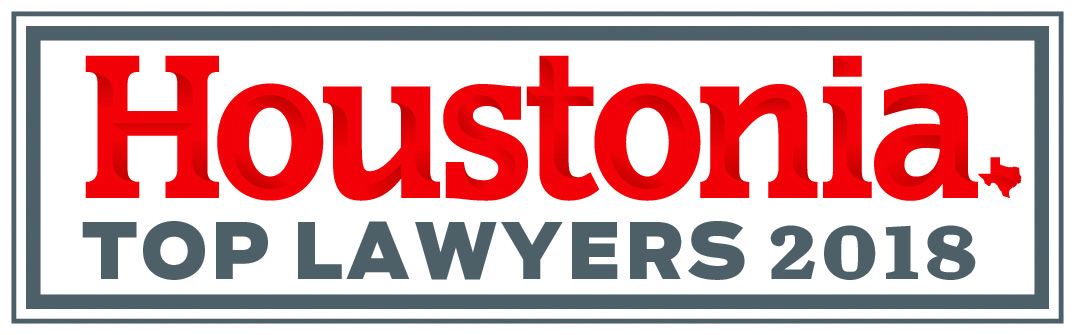 Award Badge Top Lawyers 2018 by Houstonia
