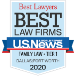 Best Lawyers Best Law Firm Family Law Dallas 2020
