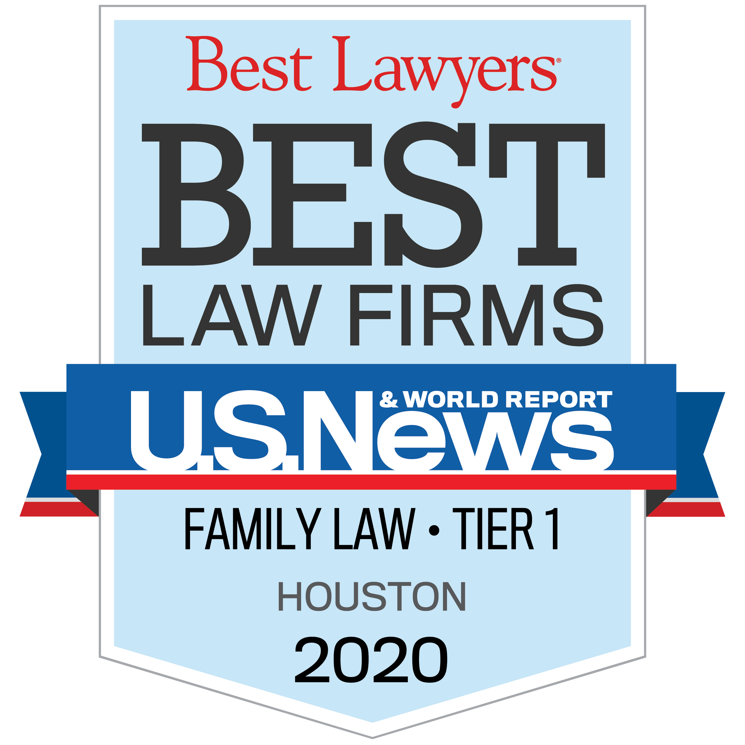 Best Lawyers Best Law Firm Family Law Houston 2020