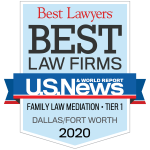 Best Lawyers Best Law Firm Family Law Mediation Dallas 2020