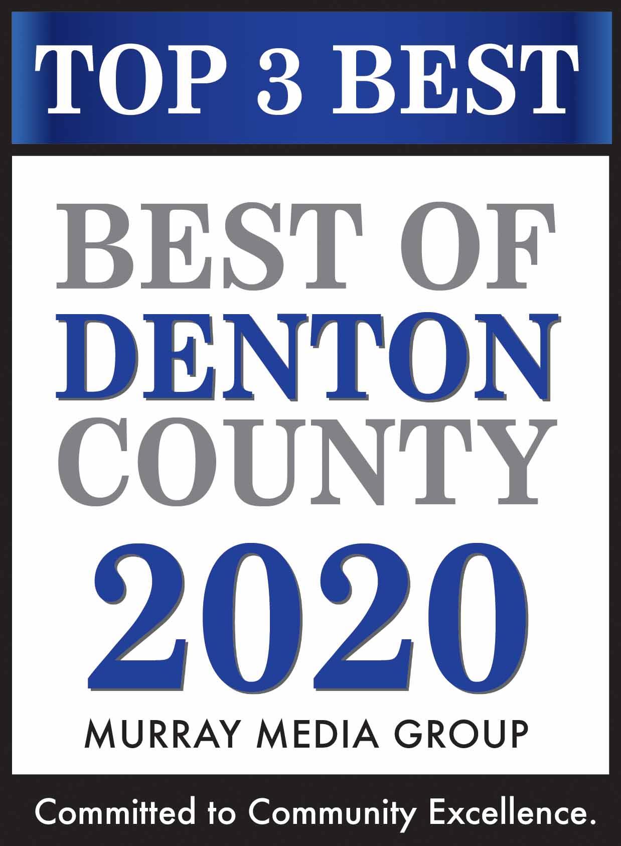 Best of Denton County Top 3