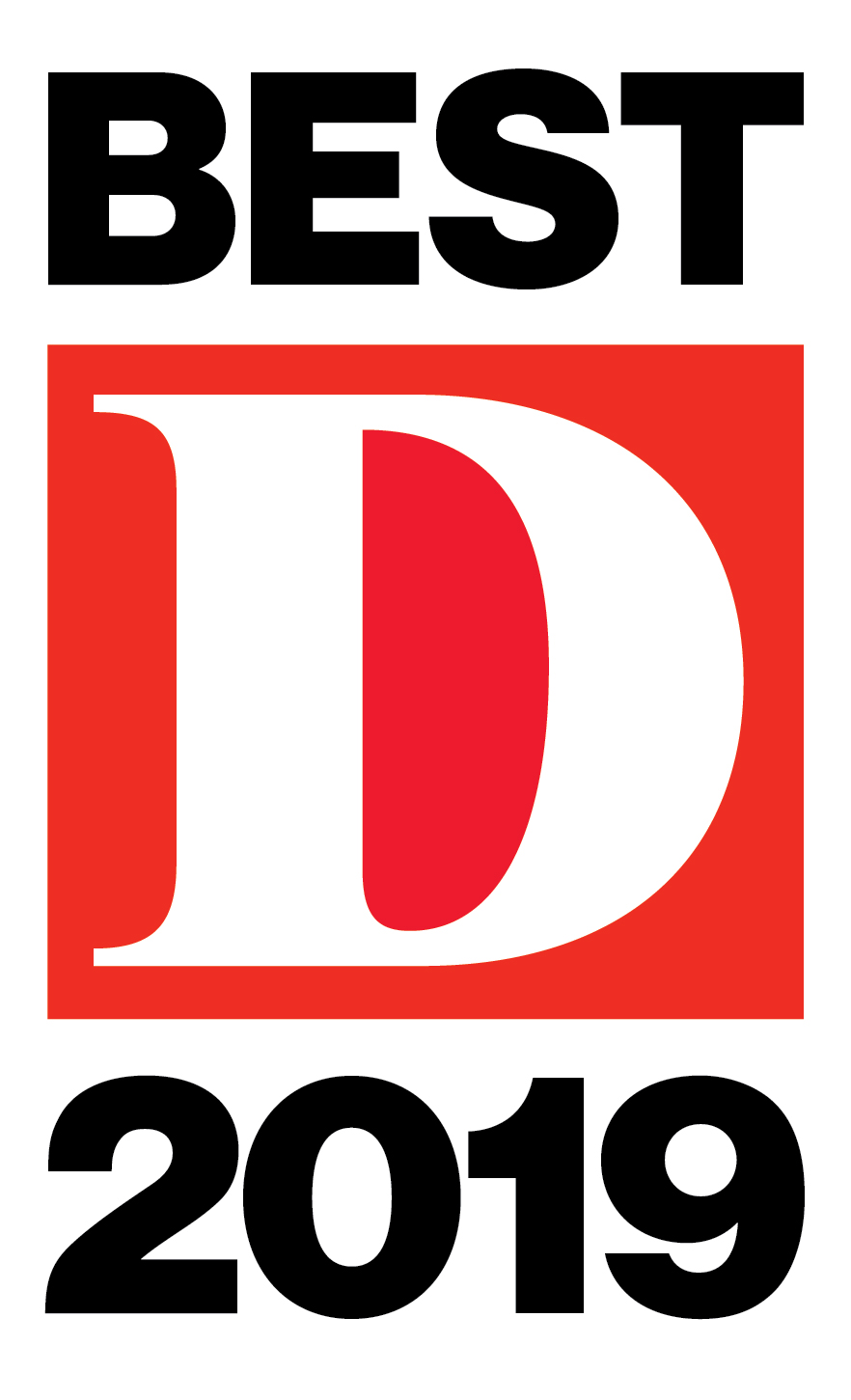 D Magazine Best Lawyers 2019 Award