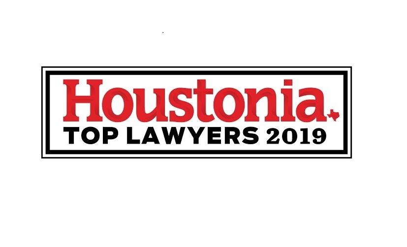 Houstonia Top Lawyers 2019