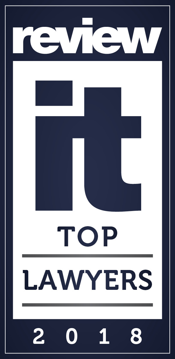 Award Badge ReviewIt TOP Lawyers 2018