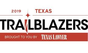 Texas Lawyer Texas Trailblazer 2019