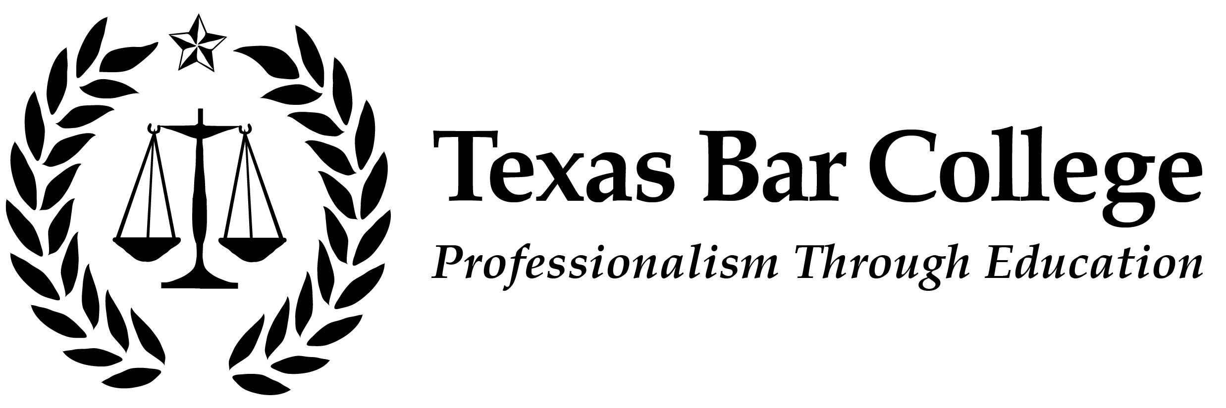 Texas Bar College Logo