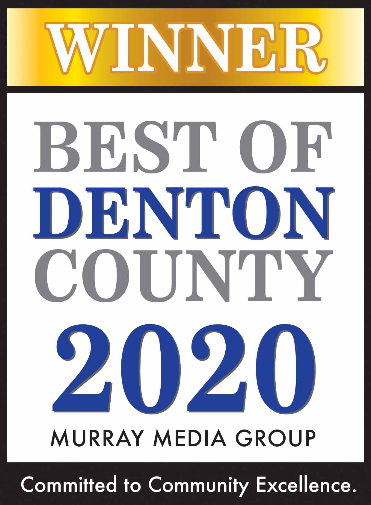 Best of Denton County Award Logo